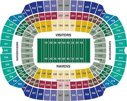 Seating Chart Seahawks Tickets Baltimore Ravens Tickets