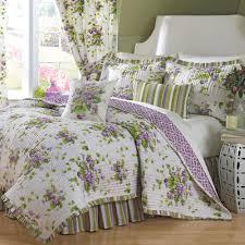 sweet violets floral quilt set bedding by waverly  bedrooms