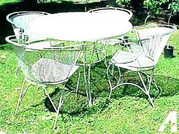 white cast iron patio furniture. White Wrought Iron Patio Furniture Outdoor Classy Ideas Vintage Cast For N
