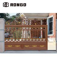 Gate Design Online Rongo Indian House Sliding Main Entrance Gate Design Buy Entrance Gate Design Sliding Main Entrance Gate Design Aluminum Luxury Gate Product On