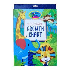 Stephen Joseph Keepsake Growth Chart Safari
