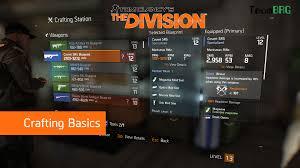 invoker cheat sheet the division crafting basics team brg