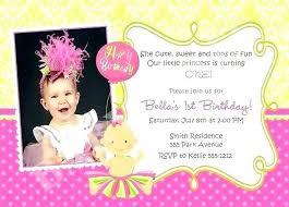 Cute 2nd Birthday Invitation Wording Budet Pro