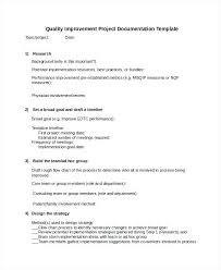 Research Document Template Project Documentation Templates Free Sample Example Format Software