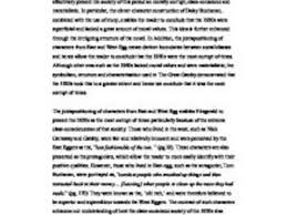 the great gatsby essay essay on the great gatsby great gatsby the great gatsby essay a level english marked by