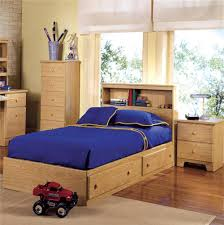 Twin Bed Frame with Drawers underneath It — Bed and Shower