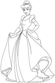 Cinderella Bell Coloring Pages Print Coloring