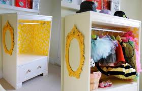 diy costume closet for kids