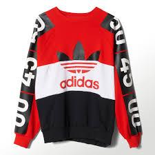 adidas jumper. adidas topshop superstar sweatshirt - red | uk jumper