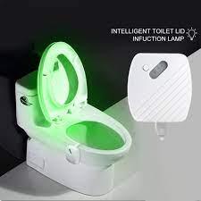 Đèn LED thông minh trong toilet với cảm biến chuyển động 24 màu