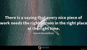 Benoit Mandelbrot Quotes ...