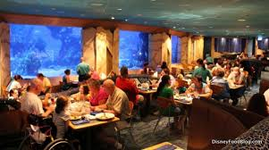 underwater restaurant disney world. The Coral Reef Restaurant Underwater Disney World A