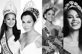 a look back on the four filipina miss universe queens