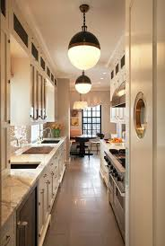 Amazing Long And Narrow Kitchen Designs For New Kitchen Layout