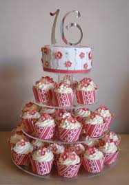 11 Sweet Sixteen Birthday Cakes And Cupcakes Photo Sweet 16