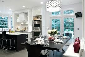 transitional kitchen lighting. Kitchen Table Lighting Residence Renovation Transitional  Houzz L