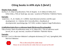 referencing books in apa owll massey university apa cite essay in book