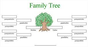 Blank Family Tree Charts Download Blank Family Tree Template 31 Free Word Pdf Documents