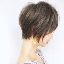 ショートヘアの真価は後ろ姿にアリ美フォルムで視線を釘づけにhair