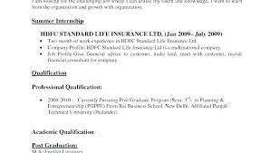 Resume Format Sample For Job Application Best Formats Of Resume