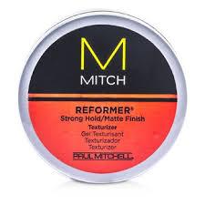 Paul Mitchell Pánská Stylingová Pasta Pro Zvýšenou Texturu A Matné Zakončení Mitch Reformer Strong Holdmatte Finish Texturizer 85g3oz