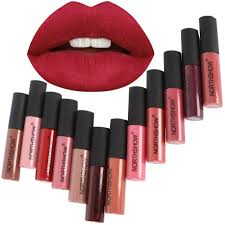 NORTHSHOW <b>12 Colors Matte Liquid</b> Lipstick Waterproof Long ...