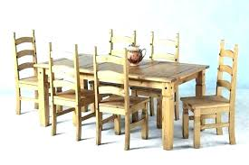 pine dining room table tables round rustic chairs furniture