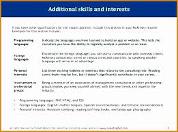 Additional Skills For Resume Fascinating 60 Additional Skills On Resume BestTemplates BestTemplates
