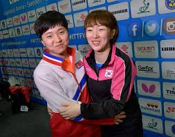 pingpong diplomacy koreas join teams at table tennis worlds