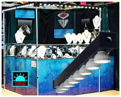 trade show booth led lighting display light fixtures canada jewelry