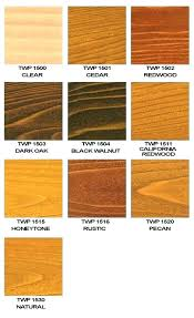 Behr Semi Transparent Wood Stain Color Chart Semi Transparent Stain Colors Lilfarmchicblog Co