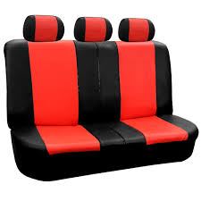 pu leather 60 40 40 60 50 50 split rear bench cover for