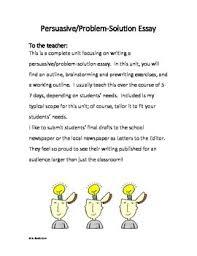 persuasive problem solution essay writing project by live laugh learn persuasive problem solution essay writing project