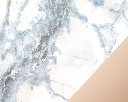 Aesthetic Marble Gold Rose Wallpapers ...