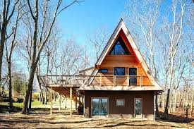 a frame house kits architecture turned a run down a frame cabin into a family building