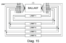 ballast wiring diagram ballast wiring diagrams