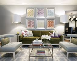 contemporary furniture for living room. The Gray Walls, Chairs And Rug Bring A Soothing Touch To This Otherwise Playful Living Room. Contemporary Furniture For Room