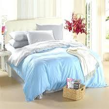 double sheet size light blue silver grey bedding set king size queen quilt doona duvet cover