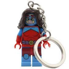 pogo queen atomia dc marvel super heroes bricks keychain single batman superman building block set