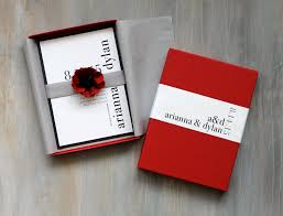 modern luxury box wedding invitations red wedding elegant Wedding Invitation With Box Wedding Invitation With Box #28 wedding invitation with bow