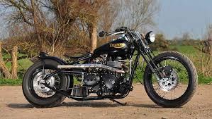 factory triumph bonneville bobber motopreserve