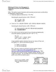 mgab03h3 textbook notes summer 2016 chapter 3 marginal cost quadratic equation marginal revenue