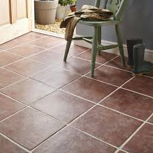 Calcuta Red Stone Effect Ceramic Floor Tile, Pack of 9, (L)330mm (W)330mm |  Departments | DIY at B&Q