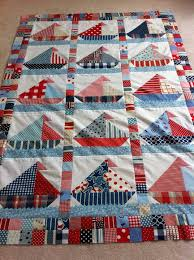86 best Sailboat quilts images on Pinterest | Navy duvet, Graphics ... & This is so cute, and such a simple concept!