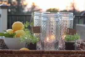 diy mercury glass lanterns