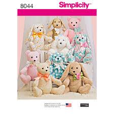 Simplicity Bear Pattern