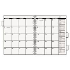 Aag 7092378 At A Glance Monthly Planner Refill 9 X 11 2018 Buy