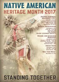 Official Month Designations National Native American Heritage Month Celebration Indian