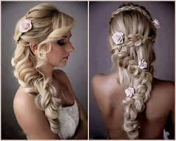 Long Bridal Hairstyles Down Bridesmaids Hairstyles Long Hair Down