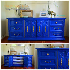 diy lacquer furniture. Cobalt Blue Nautical Custom Order Lacquer Oversized Dresser From The Papaya Tree. Diy Furniture T